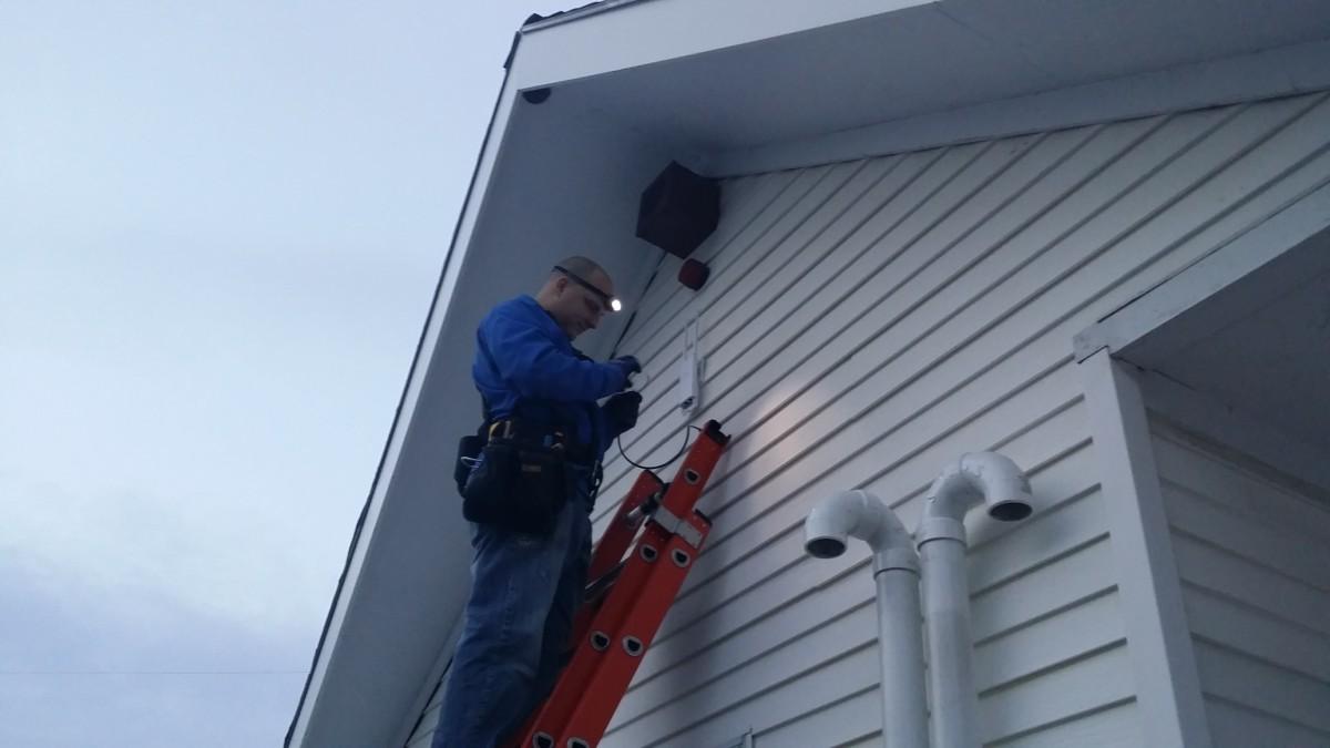 Jared installing