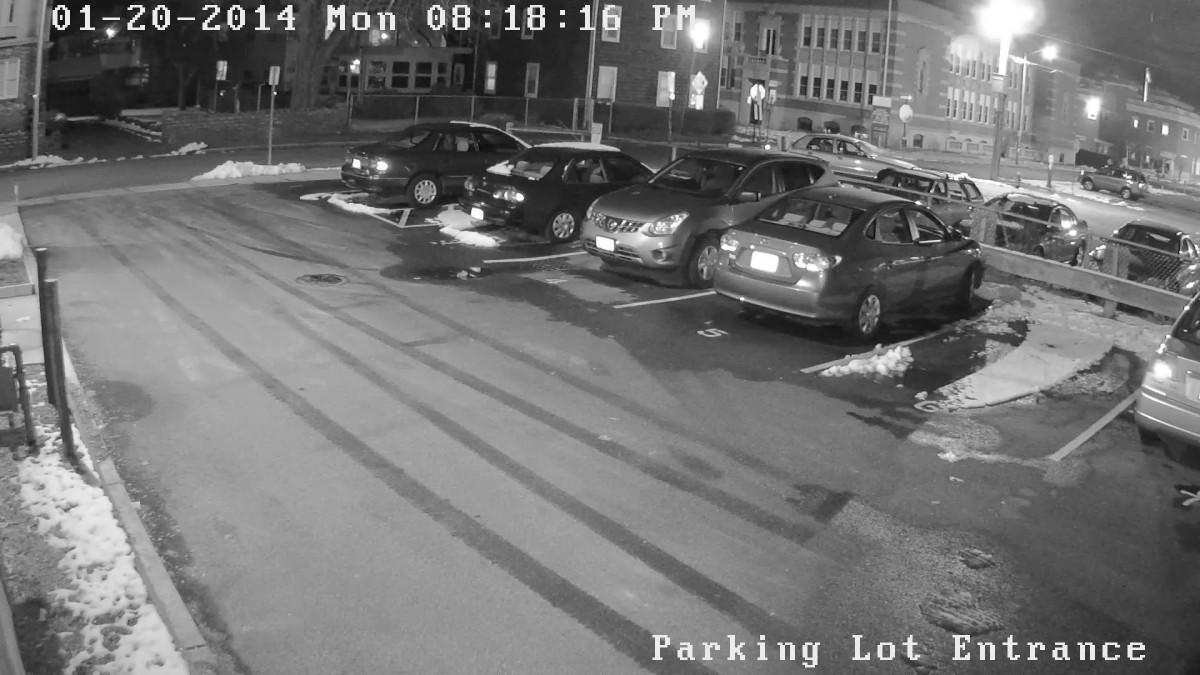Parking lot nighttime