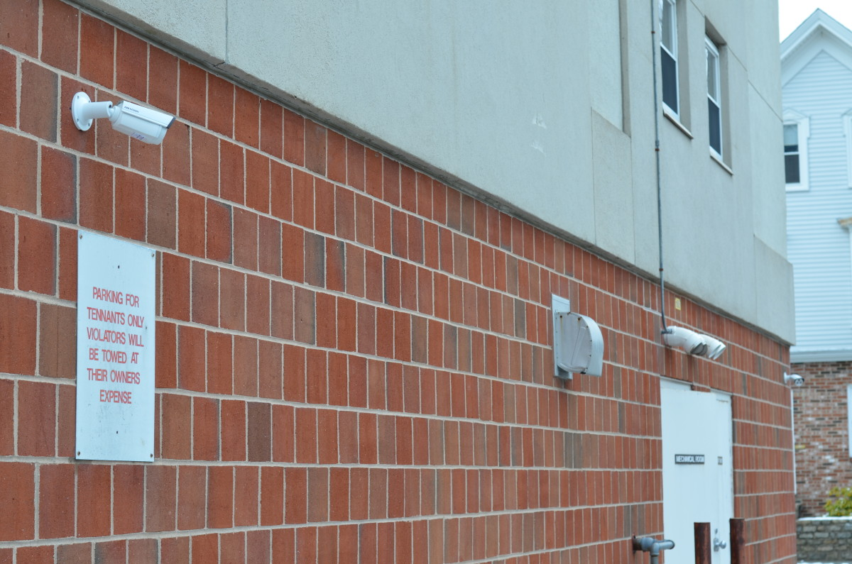 2 exterior cameras installed
