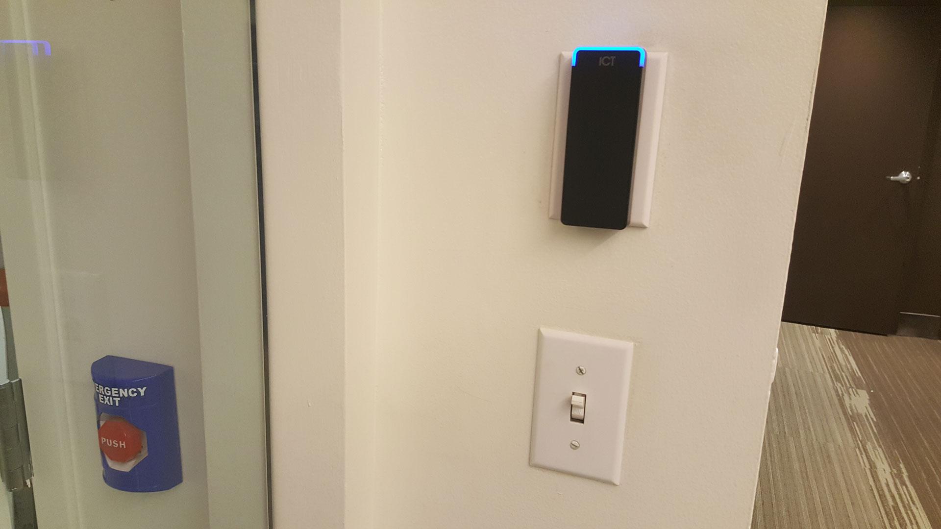 Door access control setup intellibeam for Door access controller